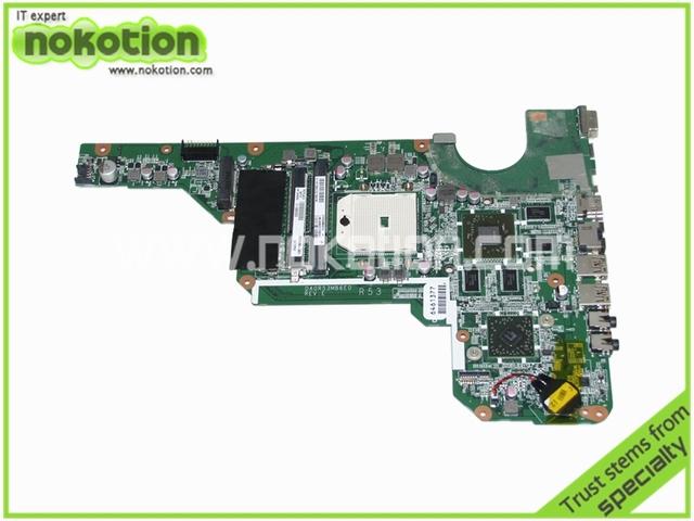 683030-001 DA0R53MB6E0 Placa Madre Del Ordenador Portátil para HP Pavilion G4-2000 G6-2000 G7Z-2100 ATIHD 7670 M REV E