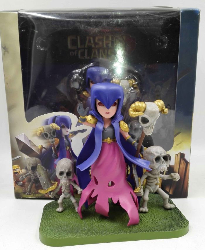 clash of clans Witch action figure anime superhero