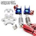 3D Drucker V6 Hotend Dual Head Extruder mit 0 4mm Düse 12V & 24V Lüfter und Effektor für 1 75mm Filament E3D V6|3D Druckerteile & Zubehör|Computer und Büro -