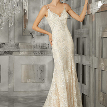 Mermaid Wedding Dresses Sleeveless Cathedral Train