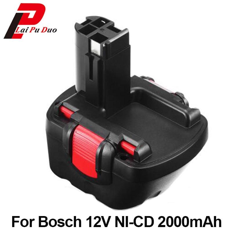For Bosch 12V 2000mah PSR 1200 Replacement tool battery GSR 12V 2.0AH AHS GSB GSR 12VE BAT043 BAT045 BAT046 BAT049 BAT120 BAT139 1 pc new 9 6v 2000mah replacement battery for bosch bh984 psr gsr 9 6 bat048 bpt1041 bat100 vhg17 t50