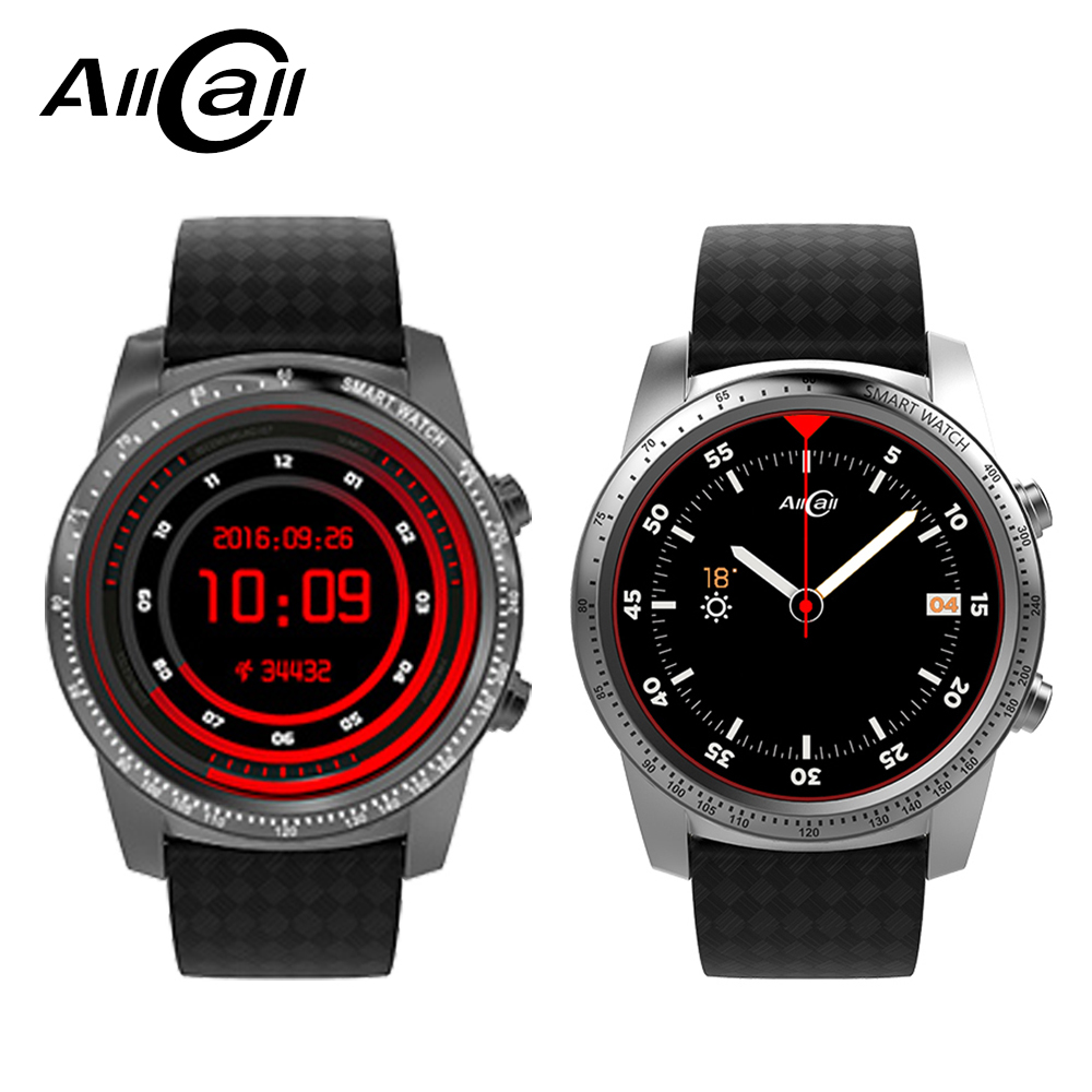 ALLCALL W1 Smartwatch Phone Android 5 1 Bluetooth Wifi 3G Connection MTK6580 Quad Core 1 3GHz