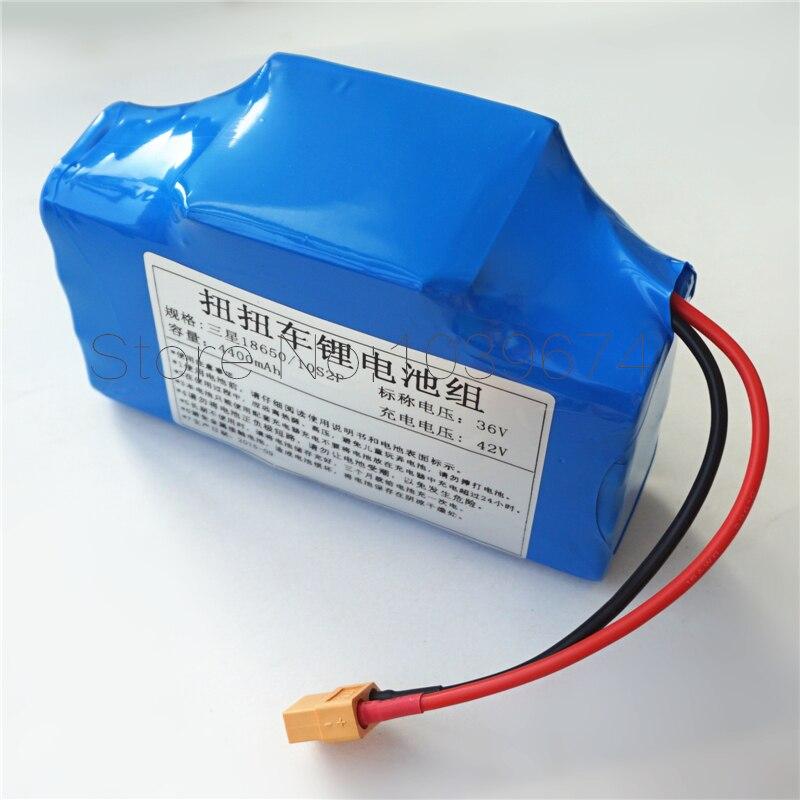 Batterie Rechargeable dynamique d'ion de lithium de Li-ion de 36 V 4400 mAh 4.4AH pour la batterie externe de Scooters électriques d'auto-équilibre