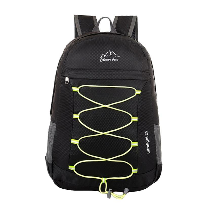 Nylon Shoulder Travel Backpack Men Mesh Fold Package Backpack Male Bandage Large Capacity Backpacks Drop Shipper Backpacks #23 ...
