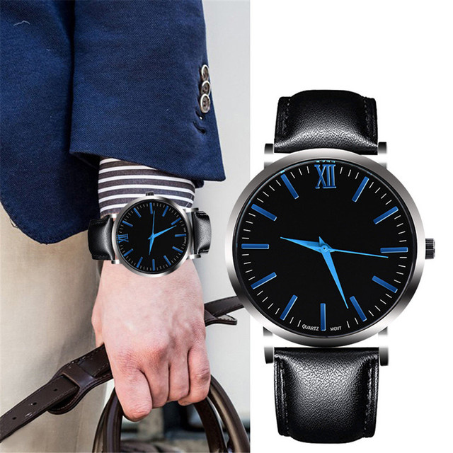 Fashion Couple Retro Bird Design Leather Band Analog Alloy Quartz Wrist Watch co