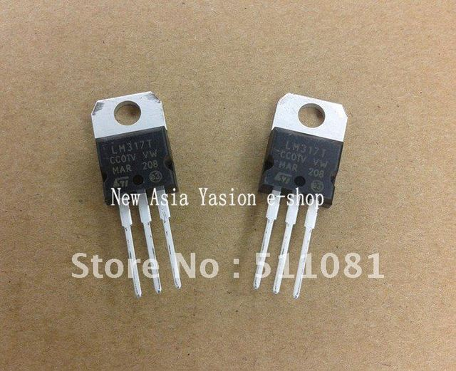 20pcs LM317T LM317 Voltage Regulator IC 1.2V to 37V 1.5A