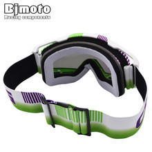 Bjmoto Motorcycle Off Road Helmet Riding MTB Goggle Glasses Motocross ATV OffRoad dirt bike Cruiser Eyewear goggles glasses
