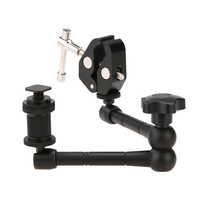 11inch Adjustable Friction Articulating Magic Arm Super Clamp For DSLR LCD Monitor LED Light Camera Accessories