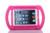 "New Kids Portáteis hand-held Rodada Stand titular tablet à prova de choque gota resistência capa Case para 7.9 ""apple ipad mini 3/2/1"