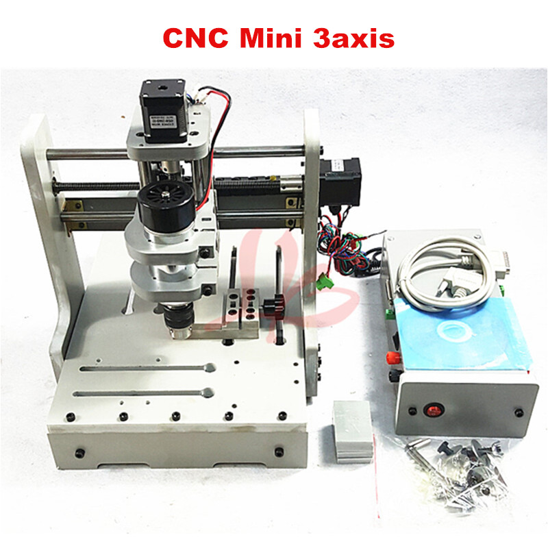 RUSSIA FREE TAX CNC router Mini engraving machine DIY Mini 3axis wood Router PCB Drilling and Milling Machine mini engraving machine diy cnc 3040 3axis wood router pcb drilling and milling machine