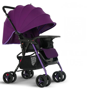 5.5KG ultra light baby stroller, universal front wheel baby carriage, portable baby pram, can sit can lie baby cart