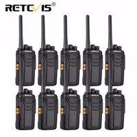 10 шт. Retevis RT27 рации лицензий радио ПМР/FRS 0,5 Вт/2 Вт PMR446 UHF 16/22CH VOX Scrambler портативных двухстороннее радио