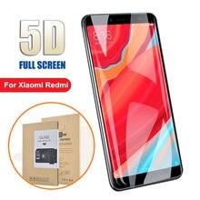Full Cover Glass For Xiaomi Redmi 7 7A 6 6A K20 Pro 5A 5 Plus Redmi Note 6 7 Pro smartphone 5D Screen Protector Toughened Film стоимость