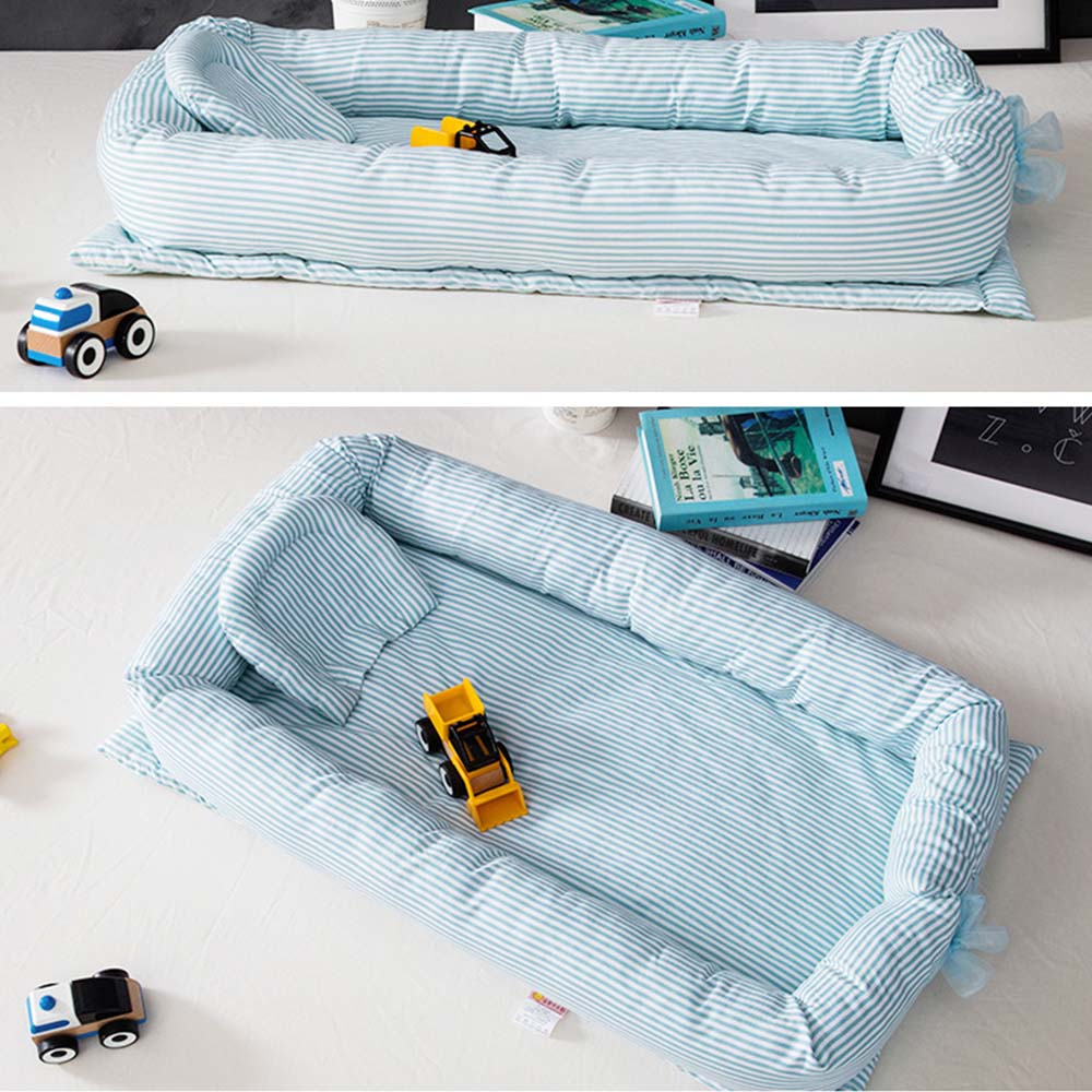 High Quality Baby Bed Portable Foldable Baby Crib Newborn Sleep Bed Travel Bed For Baby 90*55*15cm