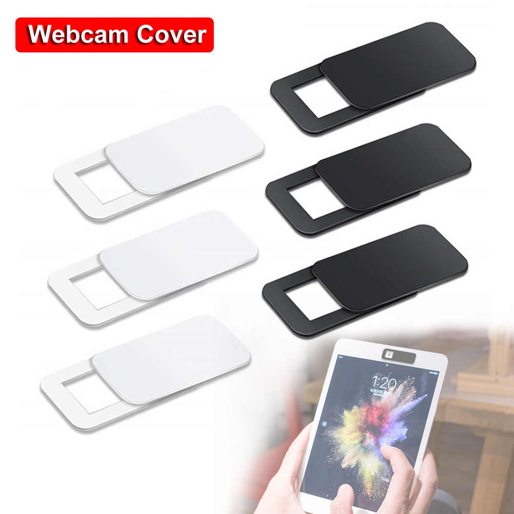 1/3pcs Ultra Thin Lentes WebCam Cover Shutter Slider Plastic Camera Cover For Ipad Phone PC Laptop Lens Privacy Sticker