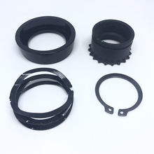 MAGORUI Delta Ring Assembly Barrel Nut Kit for .223/5.56 Rifle with Screw Bolt Tactical Hunting Accessories