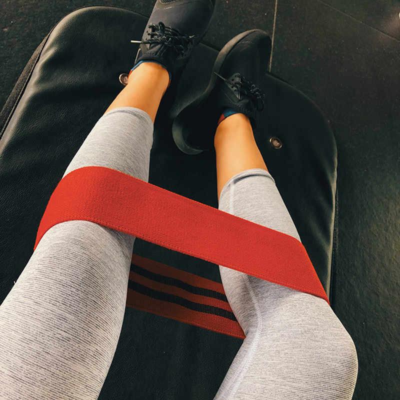 Ćwiczenia pętle do ćwiczeń oporowych Hip Butt antypoślizgowe nogi ciepłe się przysiady zespoły oporu treningu Stretch pasy Crossfit Fitness