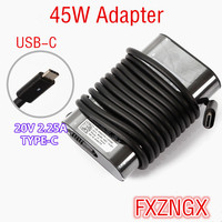 Genuine 20V/ 2A/2.25A 45W Type C USB C AC Laptop Ac Power Adapter For Dell Latitude 11 5175 5179 XPS 12 9250 7275 13 7370