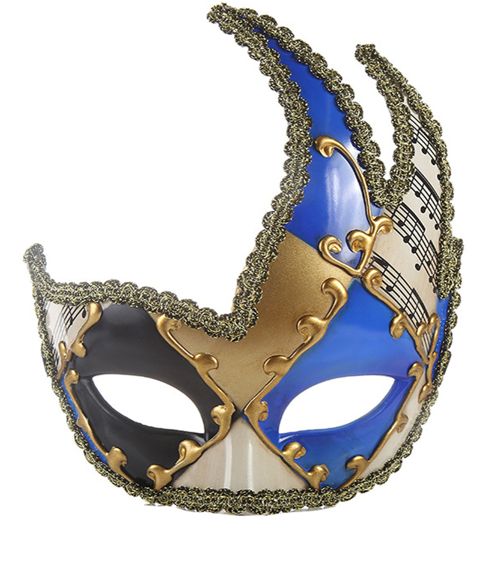 Stylish Mask For Masquerade Party For Woman And Men With Design 2019 HMJ002