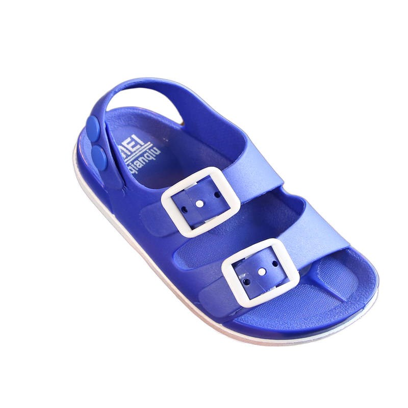 2019 New Boys Sandals Children Summer Beach Shoes For Kids Sports Soft Anti-slip Casual Toddler Baby Leather Flat Sandals 764