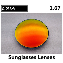 Sunglasses Lenses Custom Optical Prescription Power Myopia Glasses Lenses UV400 EXIA OPTICAL KD-98 Series