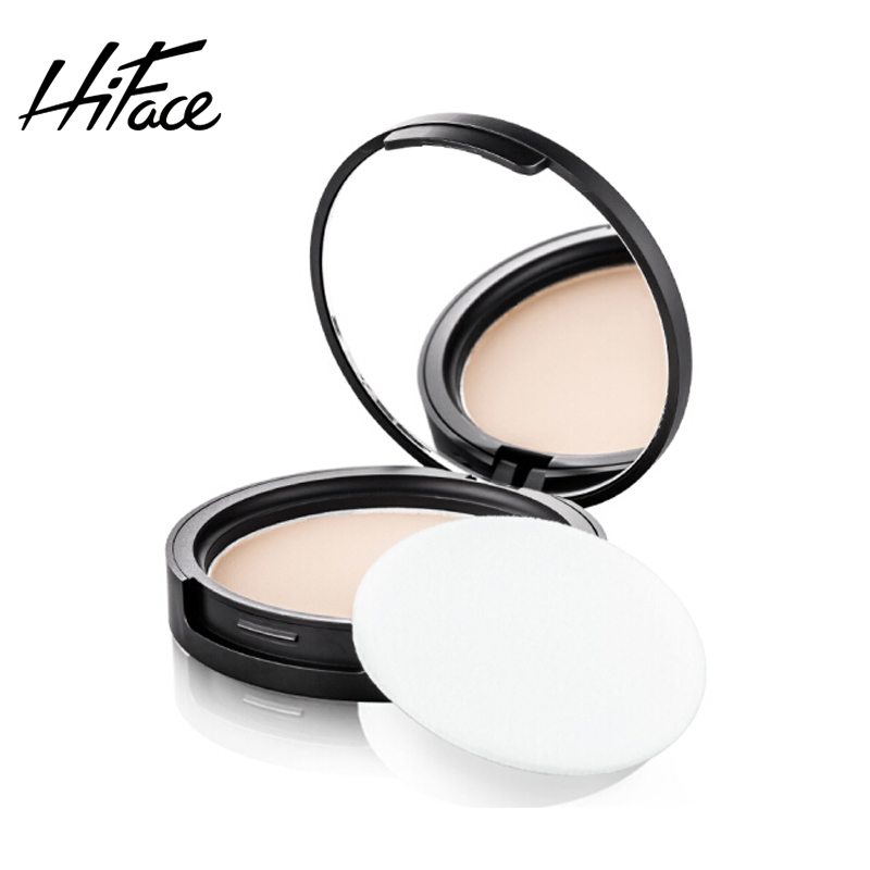 HIFACE Brand Oil Control Long-lasting Pressed Powder Concealer Pores Matte Face Base Waterproof Moisturizer Foundation Powder