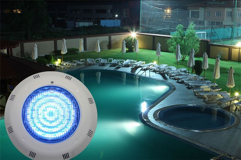12V 24 LED RGB Multi-Color Underwater Swimming Pool Bright Light with Remote Control