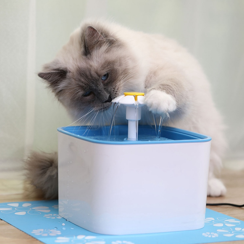 Automatic Cat Water Filter Drink Pet Dog Drinking Fountain