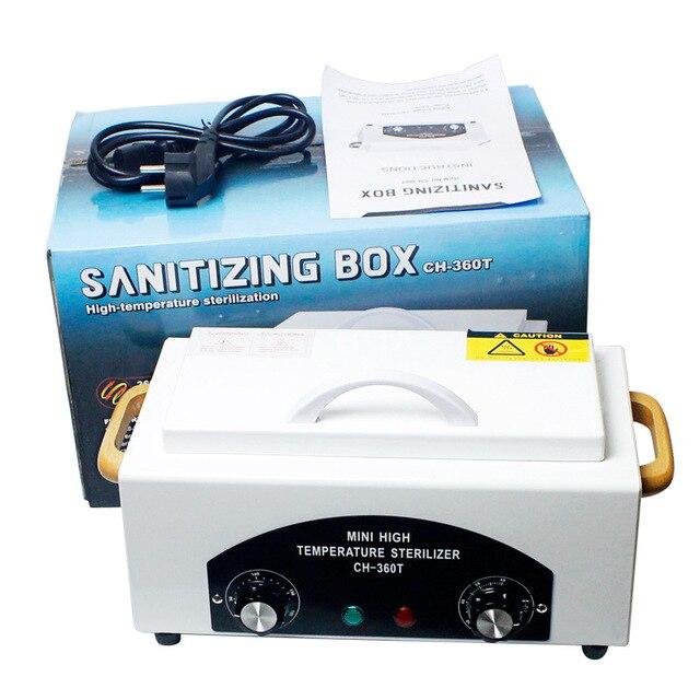 Ch 360t Dental Autoclave Sterilizer For Nail Salon Portable Mini Sanitizing Box