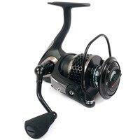 Free shipping! Black hawk ecooda second generation metal body spinning reell lure fishing reel fish reel MA 25