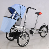 Mother & Kids Activity & Gear Baby Stroller Three Wheels Stroller With Raincover TaGa Baby Bike Stroller Mummy Bicycle Pushchair