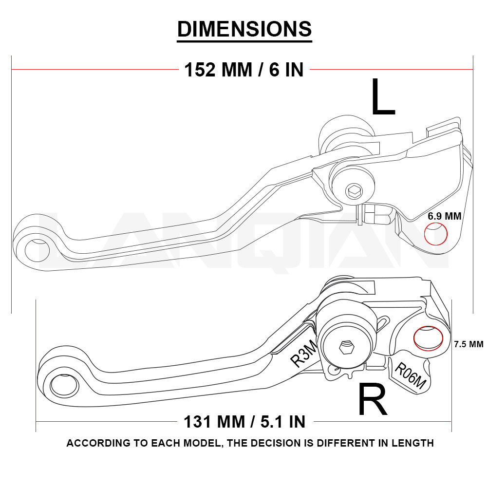 Cnc Printing Motorcycle Dirt Bike Pivot Brake Clutch Lever For Honda 2005 Crf250x Wiring Diagram 2004 2018 Accessories Crf 250x 250 X In Levers Ropes Cables