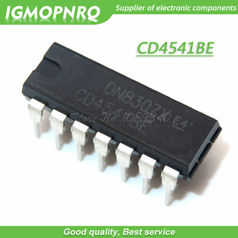 10PCS <font><b>CD4541BE</b></font> DIP14 CD4541 DIP IGMOPNRQ image