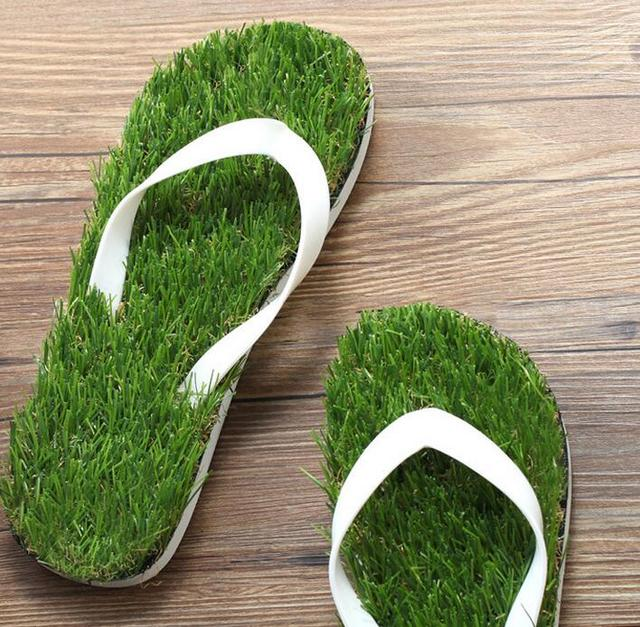 d9e20a7e7 2017 new lady flip flops imitation turf word slippers 35-44 free shipping