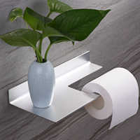 Porte-papier hygiénique en aluminium pour salle de bain porte-serviettes en papier