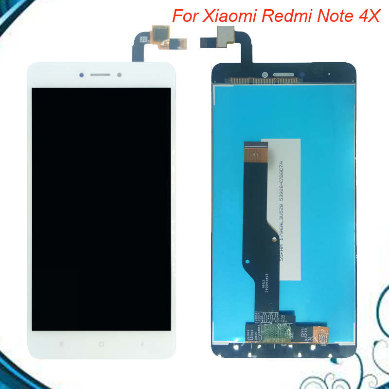 For 5.5 <font><b>Xiaomi</b></font> <font><b>Redmi</b></font> <font><b>Note</b></font> <font><b>4X</b></font> <font><b>LCD</b></font> <font><b>Display</b></font>+Touch Screen 100% Tested OK Digitizer Glass Panel Replacement For <font><b>Redmi</b></font> <font><b>Note</b></font> <font><b>4X</b></font> image