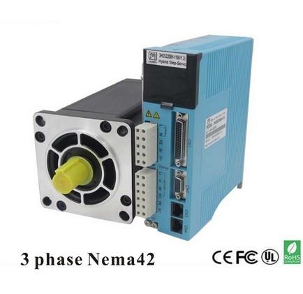 цена на 3 Phase NEMA42 20NM Closed Stepper Servomotor Driver Kit for CNC Cutting Engraving Machine