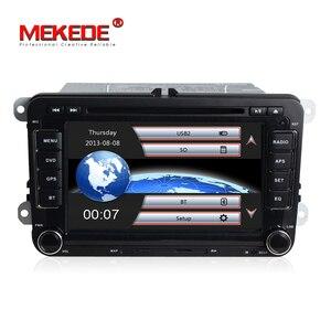 Image 2 - Samochód w cenie fabrycznej odtwarzacz DVD dla VW/Volkswagen/SAGITAR/JATTA/POLO/BORA/GOLF V nawigacji z 3G Host GPS Radio BT darmowe mapy