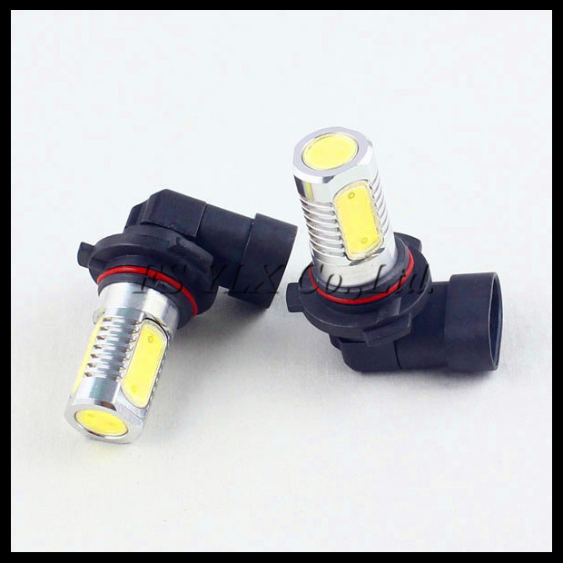 HB4 9006 LED fog light bulb 7.5W 9006 Car LED fog daytime running light bulb HB4 COB LED fog driving light DRL xenon white 1080p full hd media player with av hdmi usb sd mmc silver