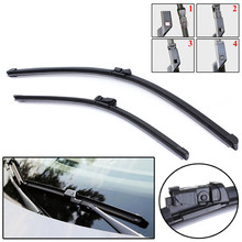 Left Hand Drive Pair 2026  FRONT WINDOW WINDSCREEN WIPER BLADES for VOLVO C30 V50 S80 XC70 2006-2013