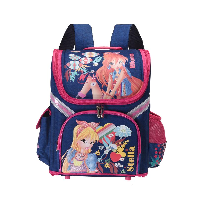 new Kids cat butterfly School bag Backpack EVA Folded Orthopedic Children boy and girls backpack Mochila Infantil delune new european children school bag for girls boys backpack cartoon mochila infantil large capacity orthopedic schoolbag