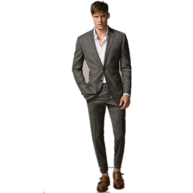 new arrival man suit handsome young man formal suits light