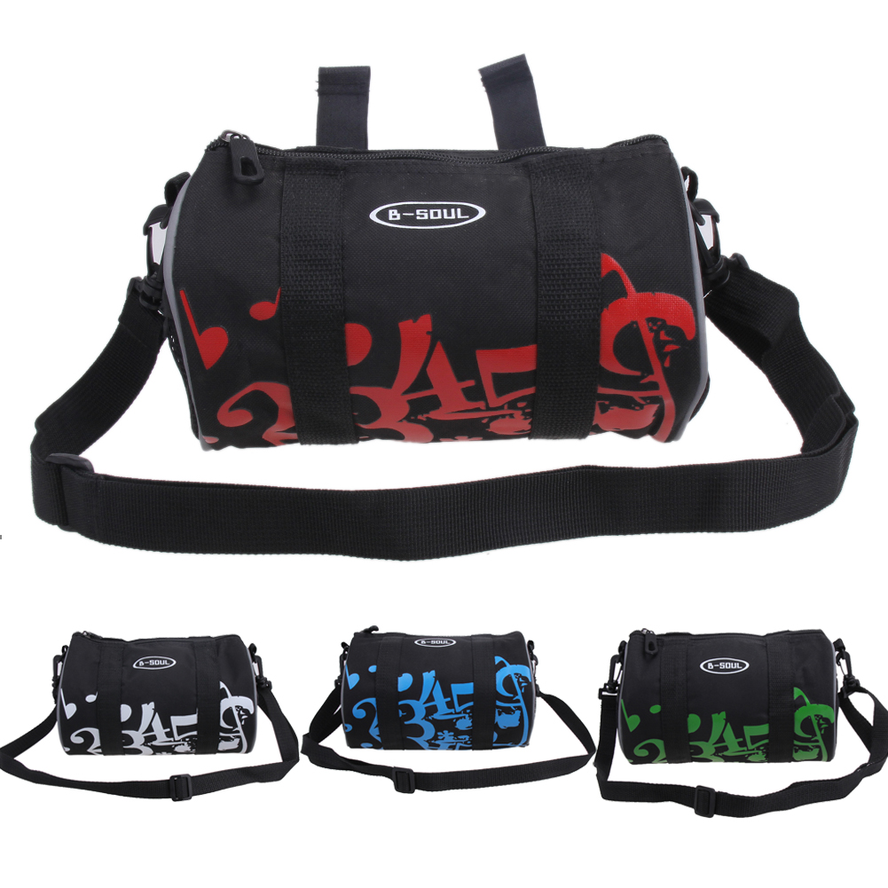 Outdoor Bicycle Front Bag Bicycle Front Tube Basket Pannier Frame Road Bike Handlebar Bag Cycling Pocket Shoulder Pack