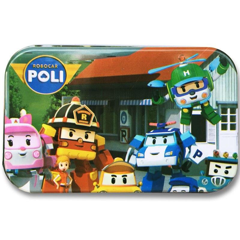 Бесплатная доставка дети мультфильм пазл 60 шт. жестяной коробке паззл кино и телевидения мультфильм Пазлы для детей Earl деревянные игрушки