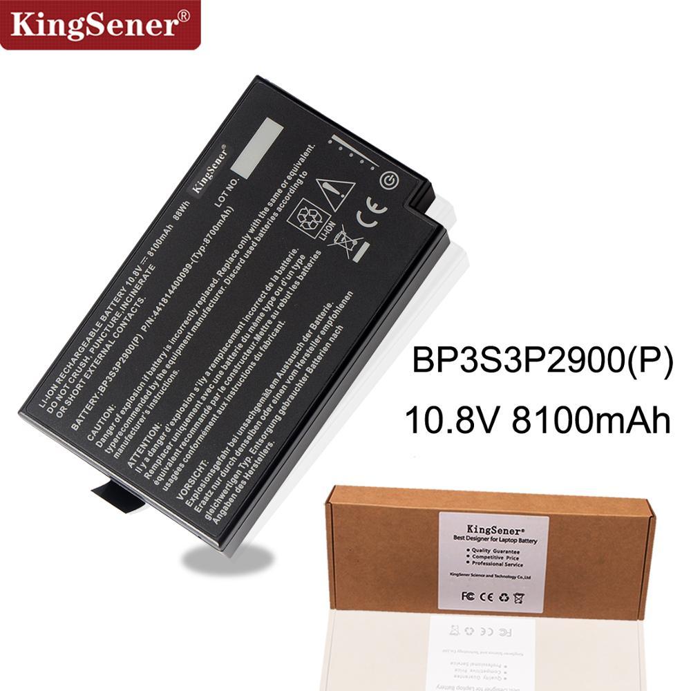 KingSener BP3S3P2900 4418144000490 Laptop Battery for Getac B300 B300X BP3S3P2900 (P) 4418144000490 3ICR19/66-3 10.8V 8100mAh maserati granturismo carbon spoiler