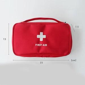 Image 3 - Portable Camping First Aid Kit Emergency Medical Bag Waterproof Car kits bag Outdoor Travel Survival kit Empty bag Househld