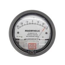 Профессиональный Цифровой Аналоговый дифференциальный манометр +/-250 pa отрицательное давление метр Манометр газа промышленности