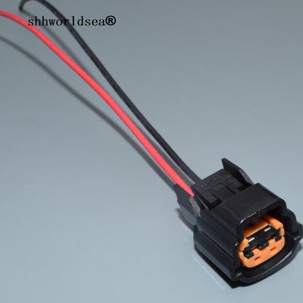 shhworldsea horn connector whistle speaker wire harness plug 6098 ...