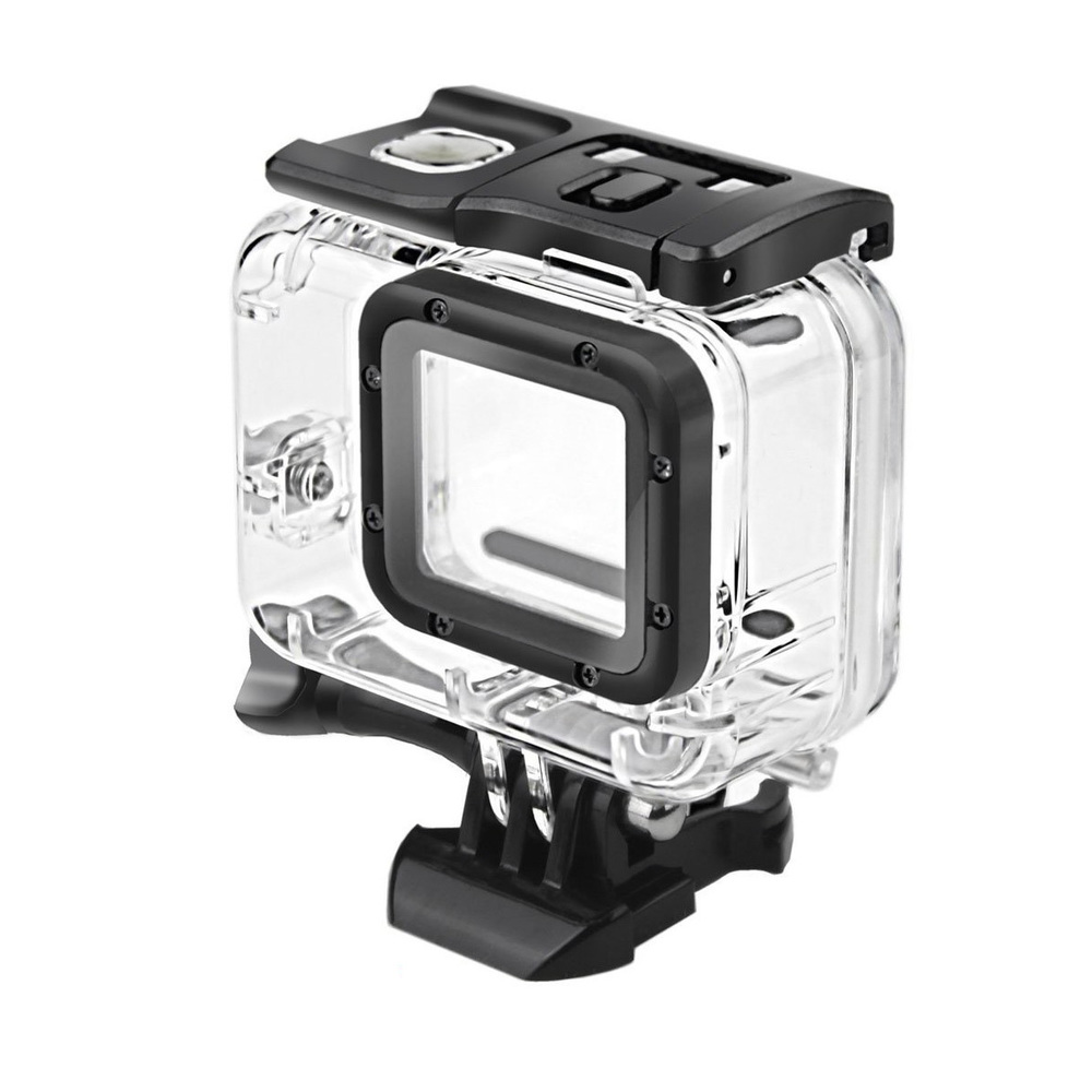 Image 3 - Clear Underwater Housing for Gopro Hero 5 6 with Anti Fog Inserts Protective Waterproof Dive Shell 40m Deep Water Scuba Case-in Sports Camcorder Cases from Consumer Electronics