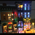 Led Building Blocks for Creator 10246 Detective Office Lepin 15011 (Model is not included)